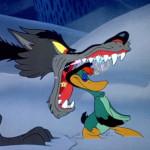 Peter en de wolf verbeeld door Walt Disney, ingesproken door David Bowie